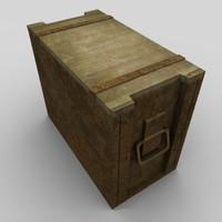 3ds max box ammunition