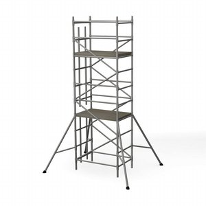 3ds max scaffold tower building