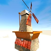 lightwave simple windmill