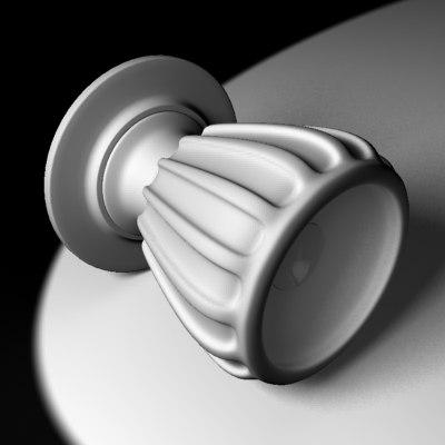 maya doorknob grip door knob