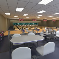 bowling alley model