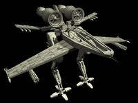 cinema4d space robot