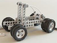 3ds max lego car