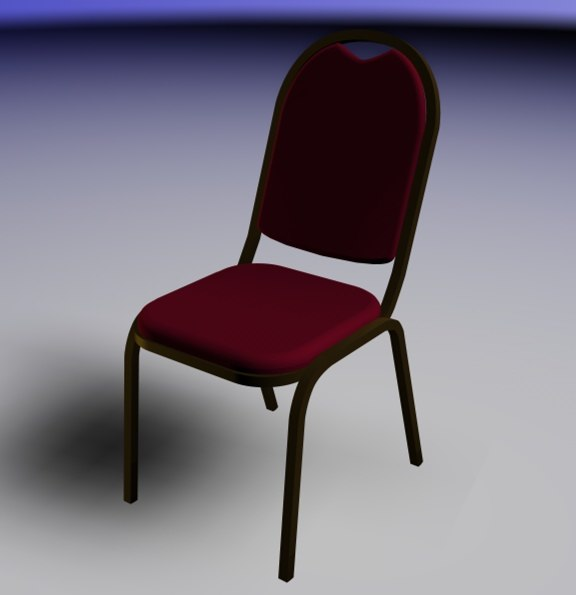 3d banquet chair