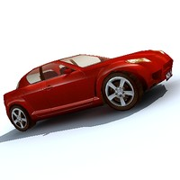car sport vehicle 3d model