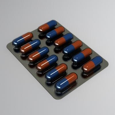 tablet drugs medicine 3d 3ds