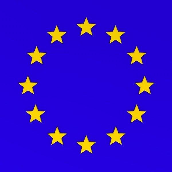 3d eu sign symbol