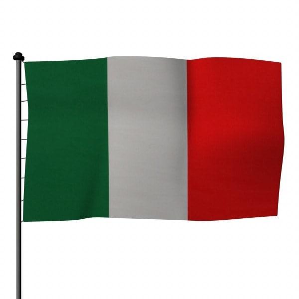 3d obj flag italy