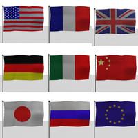 maya flags