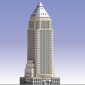 3d world plaza skyscraper model