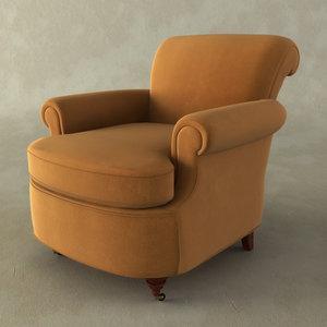 victorian club chair max