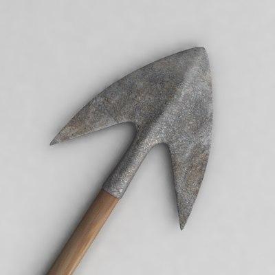 bow arrow 3d dxf
