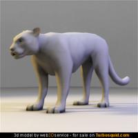 puma real time 3d model