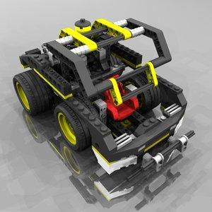 3ds technic truck