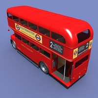 routemaster london bus 3ds