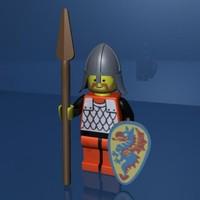 maya lego medieval man