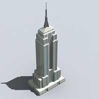 empire state 3d obj