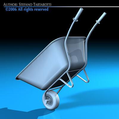 wheelbarrow wheel dxf