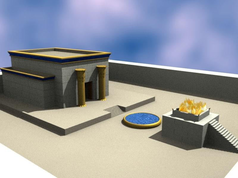 3ds solomon temple