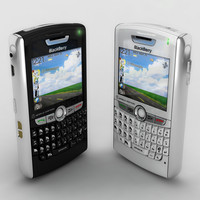 blackberry 8800 8830 3d model