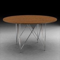 Frank Lloyd Wright wood classic table design, 604