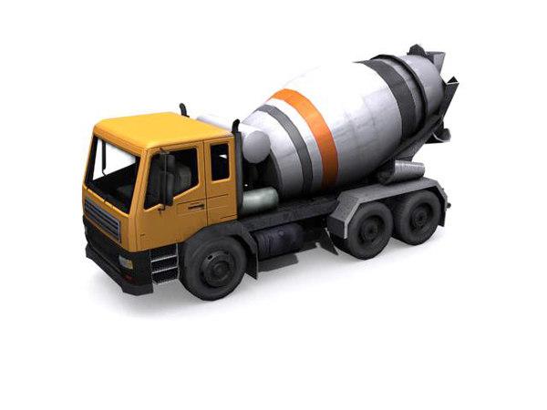 max concrete-mixer concrete mixer