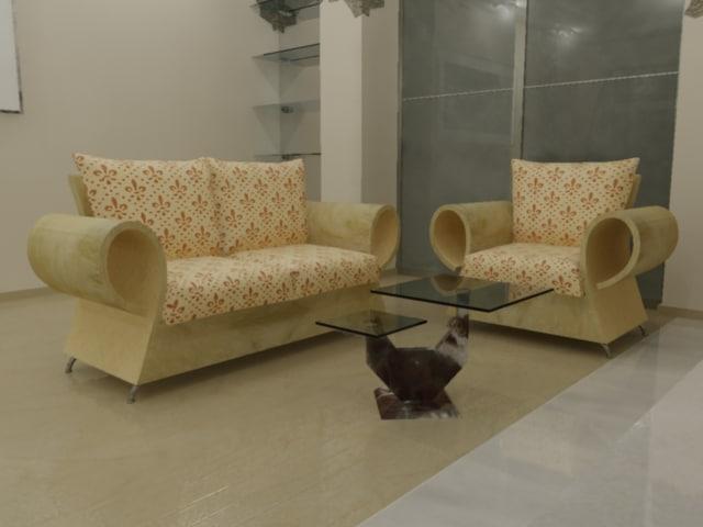 3d max interior furniture