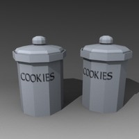 cookie jar 3d model