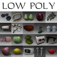 low poly set large 3ds+text.zip