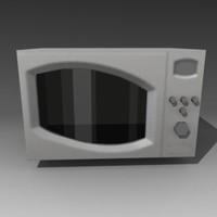 micro wave microwave 3d model