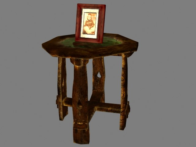 end table 3d max