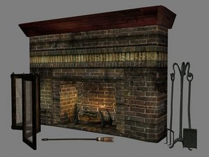 3d fireplace arts crafts