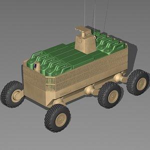 3ds max fcs mule transport