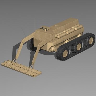 fcs mule countermine 3d model