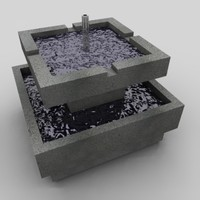 3d 3ds fountain