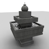 3ds fountain