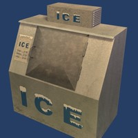 3D Ice Machine Model