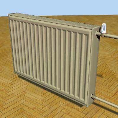 3d max radiator heater