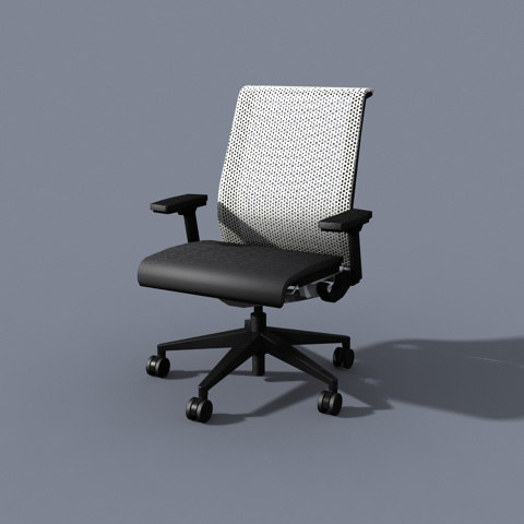 chair think 3ds