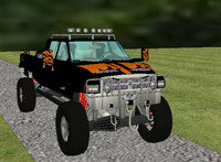 3ds max dodge ram 2500 pickup truck