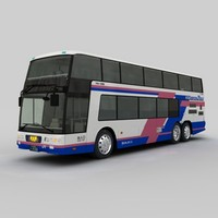 3d model of mitsubishi fuso aero king
