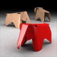 3ds max eames plywood elephant