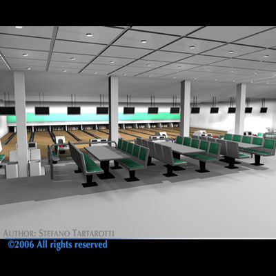 maya bowling building