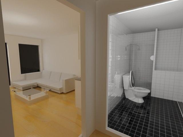 interior appartment 3d model