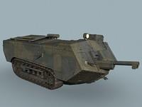 wwi tank saint-chamond max