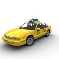 3d buik taxi model
