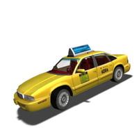 medium taxi 3d max