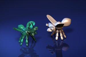 3d bugs
