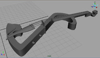 3d model of shar electric violin outfit