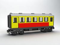 LEGO DB (DEUTSCHE BAHN) PASSENGER TRAIN